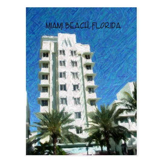 Miami Beach, FL Postcard