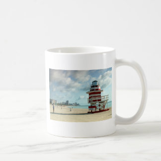 Miami Beach Fl. USAS Art Deco lifeguard stations Coffee Mug
