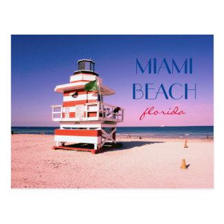 Miami Beach Florida #01 Postcard