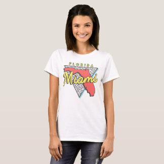 Miami Beach Florida 80s Design T-Shirt