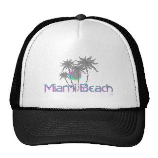 Miami Beach, Florida, Graphic, Cool Trucker Hat