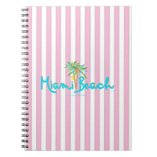 Miami Beach, Florida I Love You Notebooks