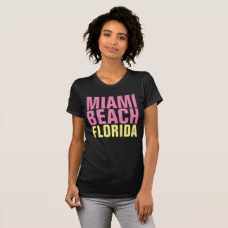 MIAMI BEACH FLORIDA Ladies T-shirts