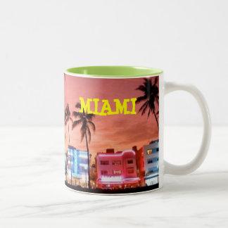 MIAMI BEACH FLORIDA MUG