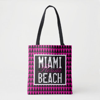 Miami Beach Florida PBTF Tote Bag