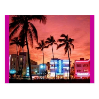 Miami Beach, Florida Postcard