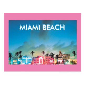 MIAMI BEACH FLORIDA POSTCARD