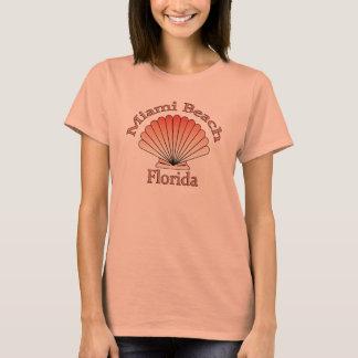 Miami Beach Florida Seashell T-shirt