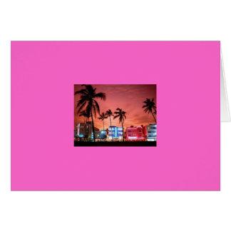 MIAMI BEACH GREETING CARDS