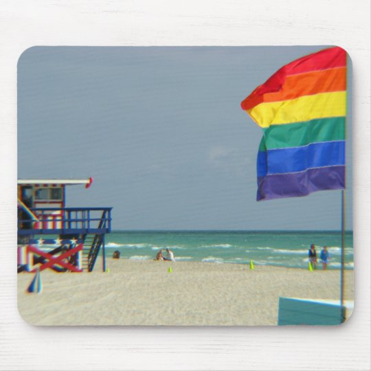 Miami Beach Mouse Pad