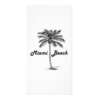 Miami Beach Personalized Photo Card