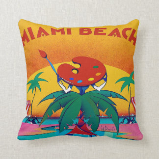 Miami Beach Pillow