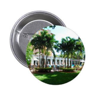 Miami Biltmore pool area 2 Inch Round Button