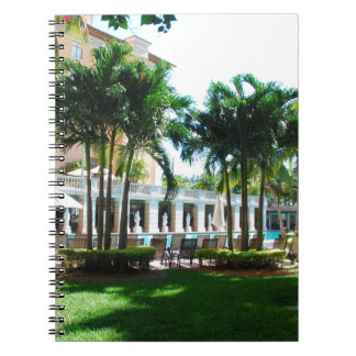 Miami Biltmore pool area Notebooks
