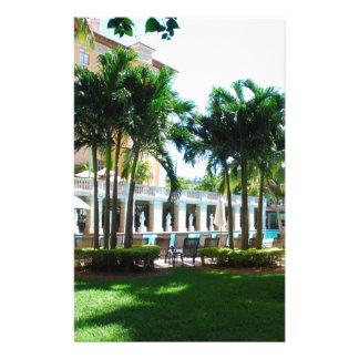 Miami Biltmore pool area Stationery