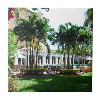 Miami Biltmore pool area Tile