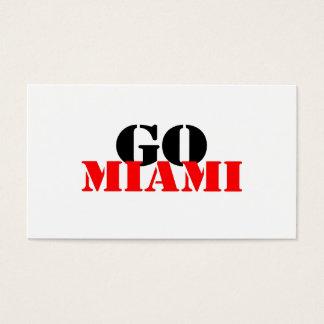 Miami Business Card