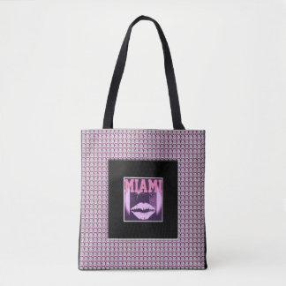 Miami Diamonds Tote Bag