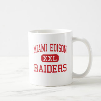 Miami Edison - Raiders - Middle - Miami Florida Coffee Mug