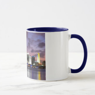 Miami Evening Skyline Coffee Mug