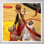 MIAMI, FL - MAY 24: LeBron James #6 of the Miami 5 Poster