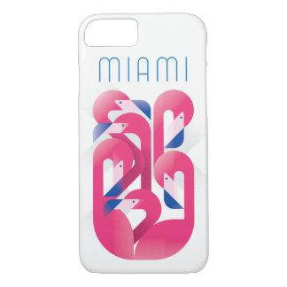 Miami Flamingo Color iPhone 8/7 Case