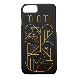 Miami Flamingo Gold iPhone 8/7 Case