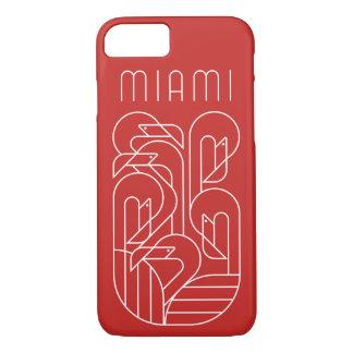 Miami Flamingo White iPhone 8/7 Case