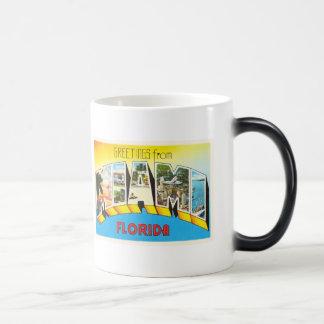 Miami Florida FL Old Vintage Travel Souvenir Magic Mug