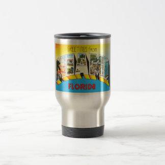 Miami Florida FL Old Vintage Travel Souvenir Travel Mug