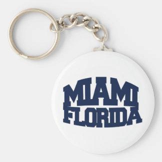 Miami Florida Keychain