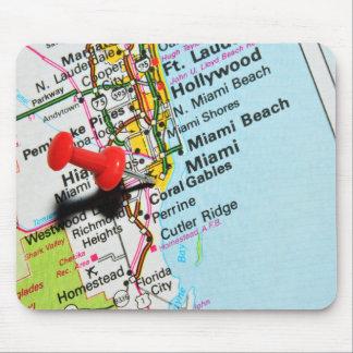 Miami, Florida Mouse Pad