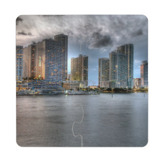 Miami, Florida Puzzle Coaster