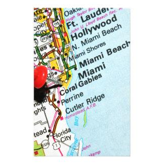 Miami, Florida Stationery