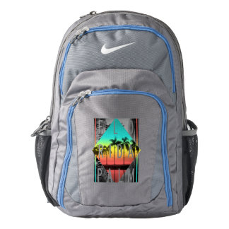 Miami Florida, Sunset Palm Trees, Backpack