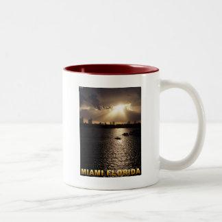Miami, Florida Two-Tone Coffee Mug