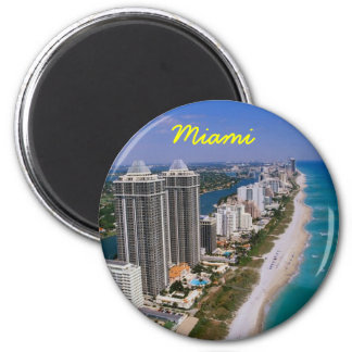 Miami fridge magnet