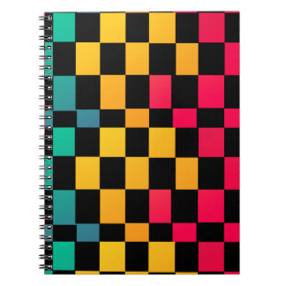 Miami Irregular Pattern Notebook