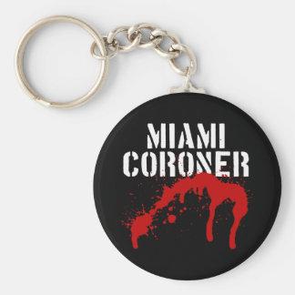 Miami Metro PD Coroner Key Chain