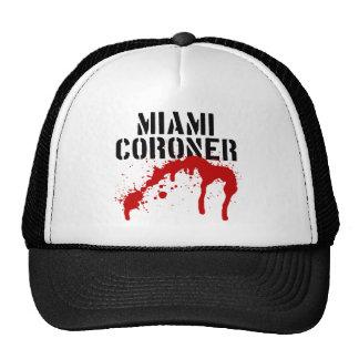 Miami Metro PD Coroner Trucker Hat
