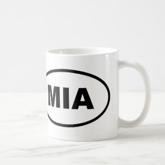 Miami MIA oval Coffee Mug