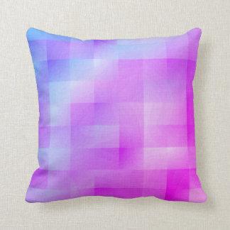 Miami neon colour throw pillow