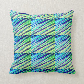 Miami Scribble Accent Style Throw Pillow