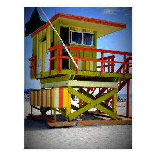 Miami Shack Postcard