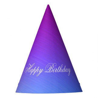 Miami Shine Happy Birthday Party Hat