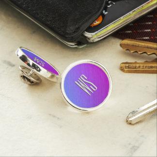 Miami Shine Monogram Lapel Pin