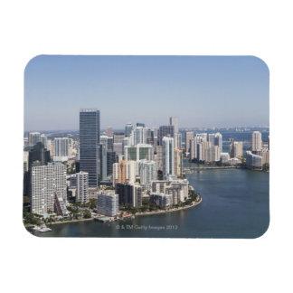 Miami Skyline 3 Magnet