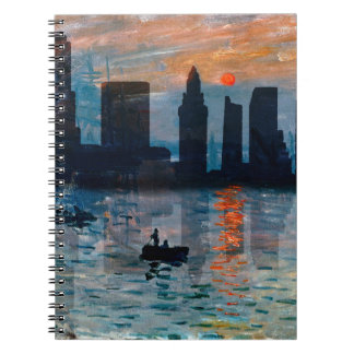 Miami Skyline 7 Spiral Notebook