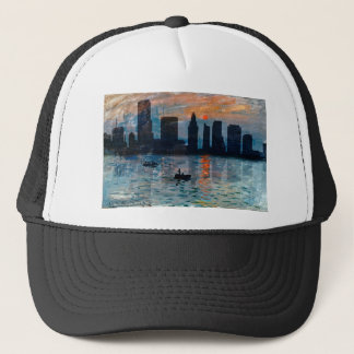 Miami Skyline 7 Trucker Hat