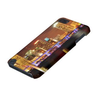 Miami skyline at night, Florida iPod Touch 5G Cases